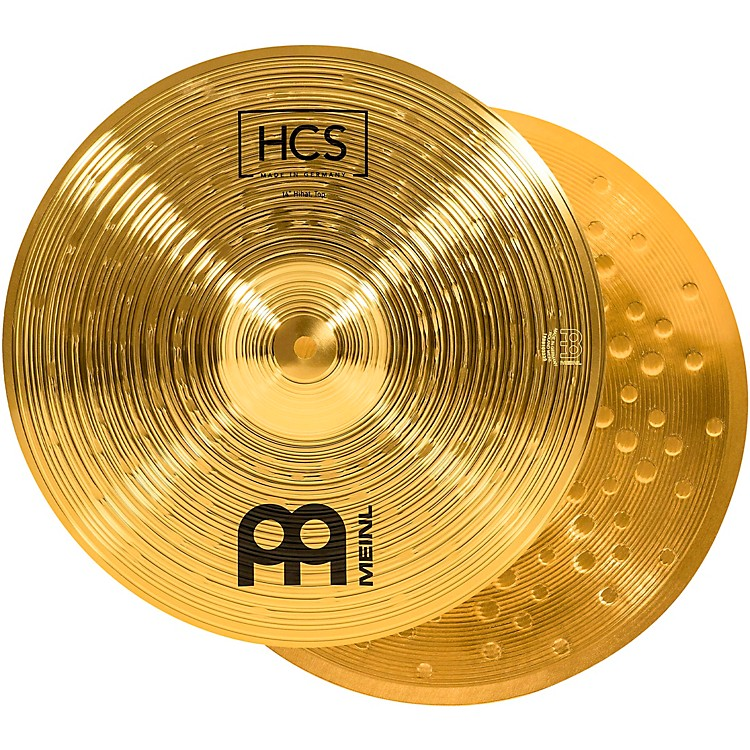 Meinl HCS Hi-Hat Cymbal Pair 14 in.
