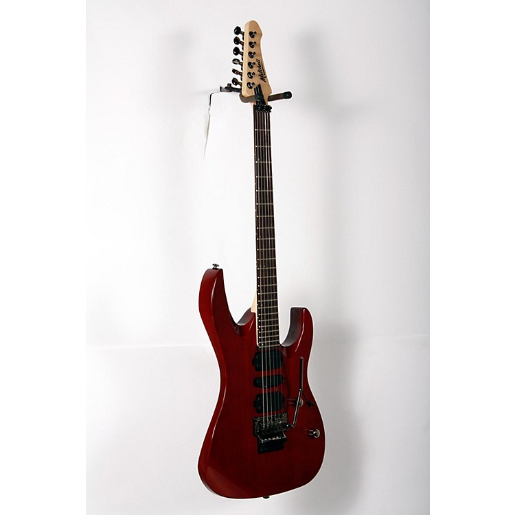 Mitchell HD400 Hard Rock Double Cutaway Electric Guitar Transparent Red 888365906515