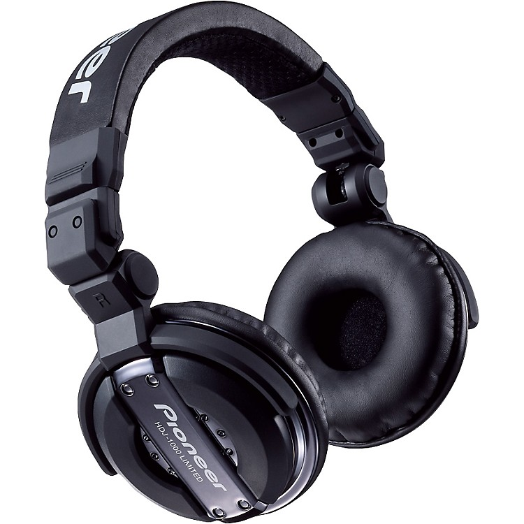 Pioneer HDJ-1000 DJ Headphones Black