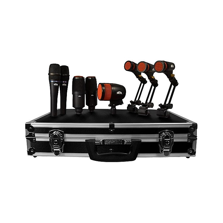 heil sound hdk 8 drum microphone kit music123. Black Bedroom Furniture Sets. Home Design Ideas