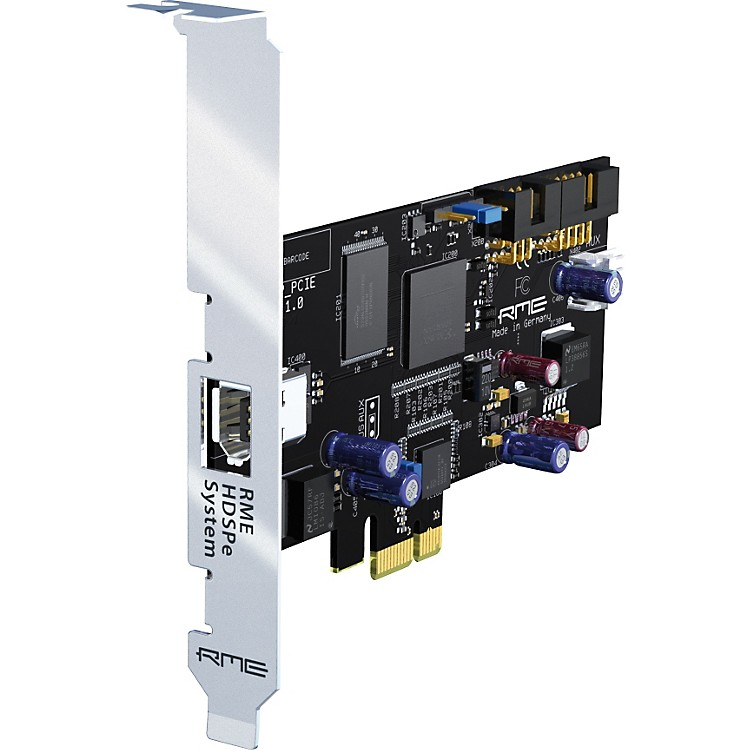 RME HDSPe PCI Express Card