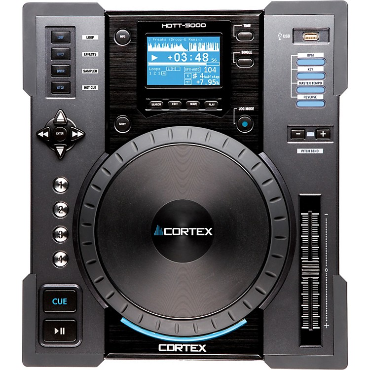 Cortex HDTT-5000 Digital Music Turntable Controller Grey