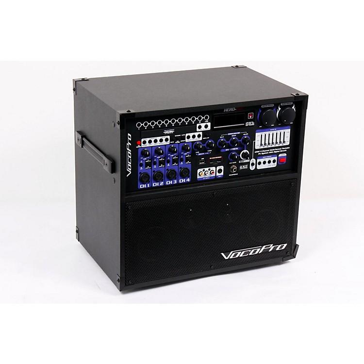 VocoProHERO-REC VHF Multi-Format Portable P.A. Karaoke System w/ Digital Recorder & VHF Wireless SystemSet 4886830883255