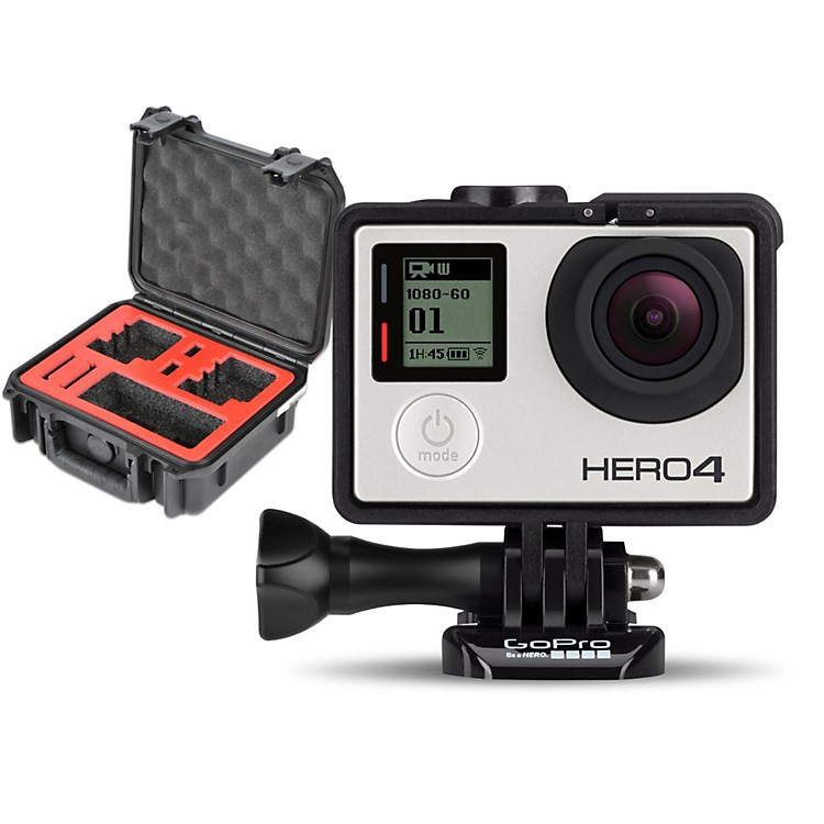 GoProHERO4 Silver - Music with Double Case