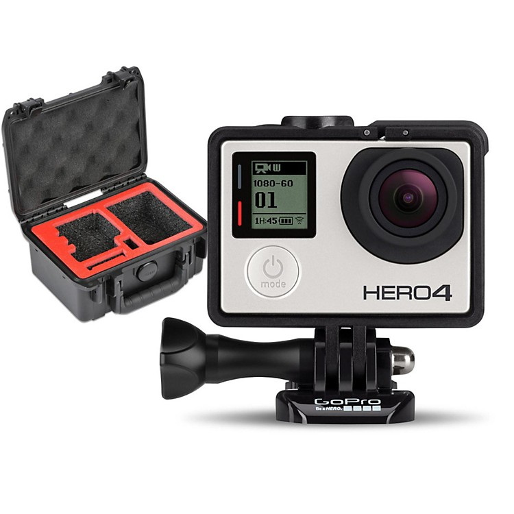 GoPro HERO4 Silver - Music with Single Case