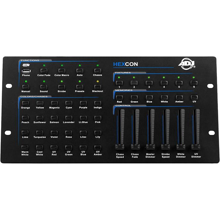 American DJHEXCON 36-Channel DMX Controller
