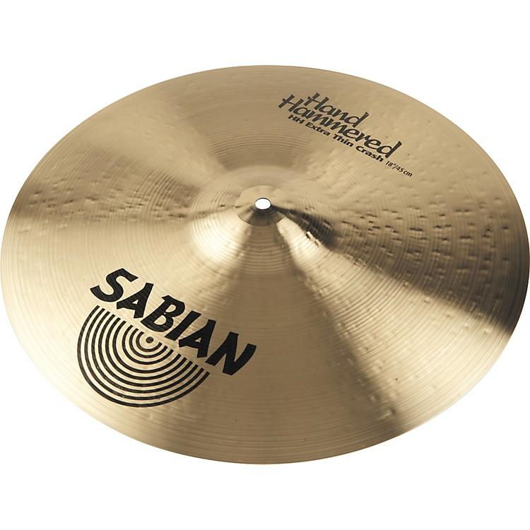 SabianHH Extra Thin Crash Cymbal Brilliant