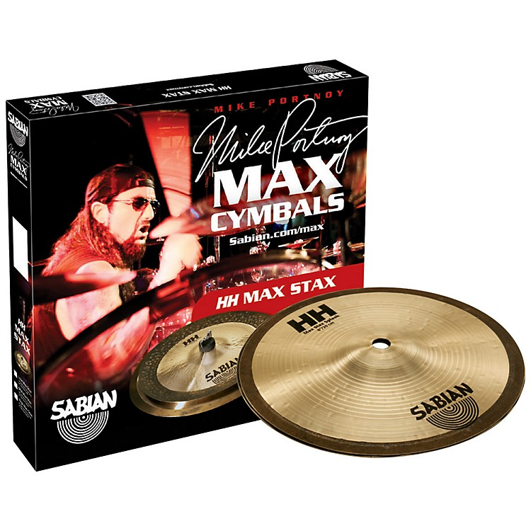 Sabian HH High Max Stax Cymbal Pack 8 in. Kang, 8 in. Splash
