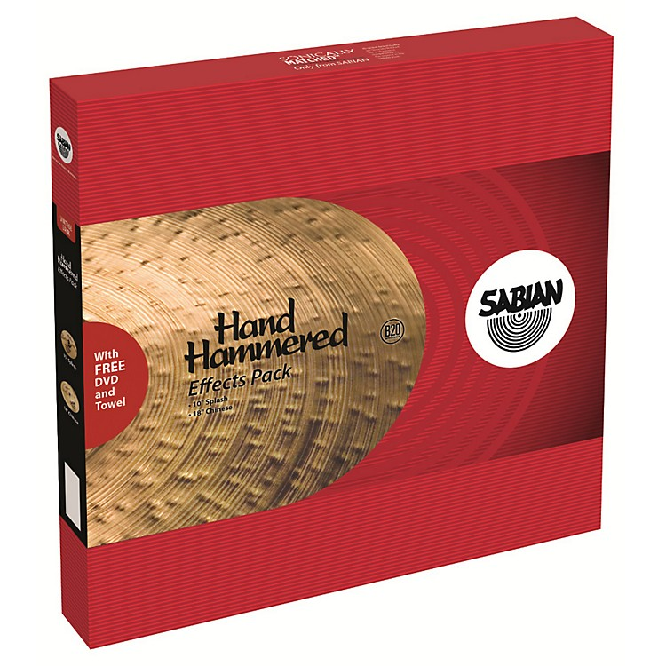 Sabian HH Low Max Stax Cymbal Pack 12 in. Kang, 14 in. Crash
