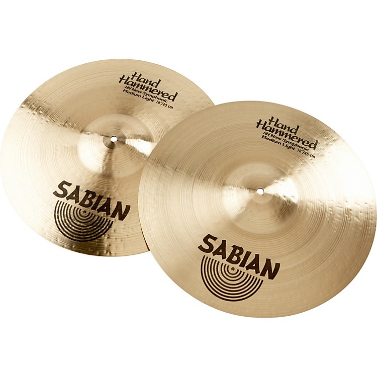 SabianHH New Symphonic Medium Light Series Orchestral Cymbal18 in.