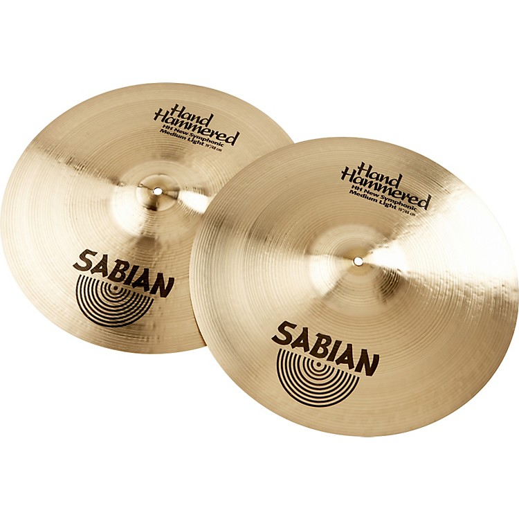 Sabian HH New Symphonic Medium Light Series Orchestral Cymbal 19 in.