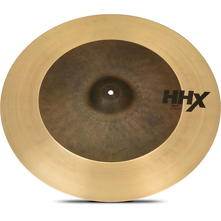 SabianHHX OMNI Ride Cymbal22 in.