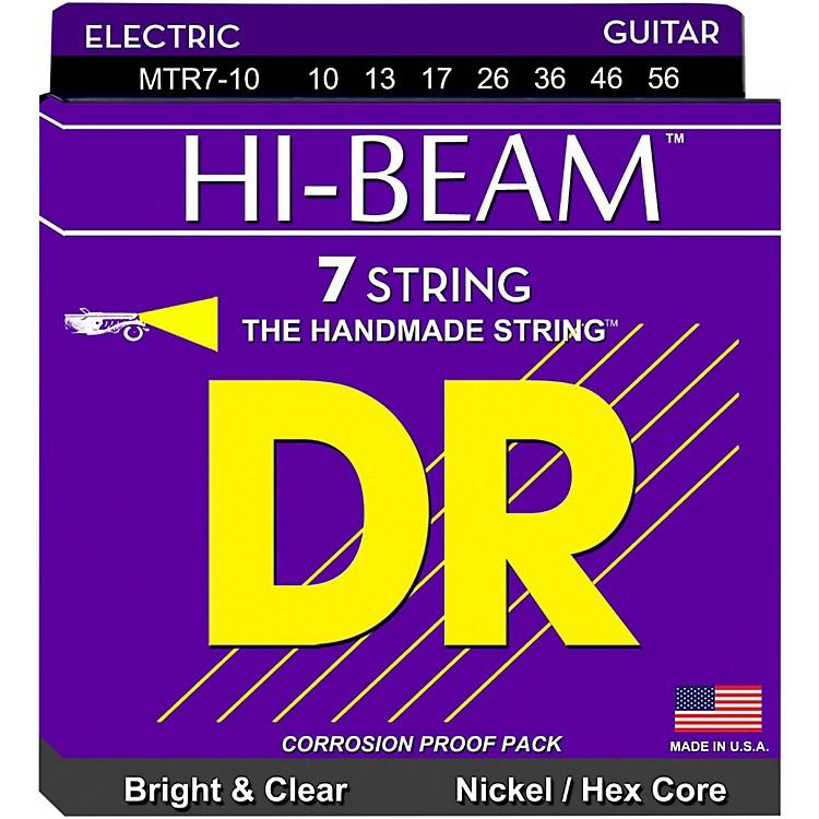 DR StringsHI-BEAM Nickel Plated 7-String Electric Guitar Strings Medium (10-56)