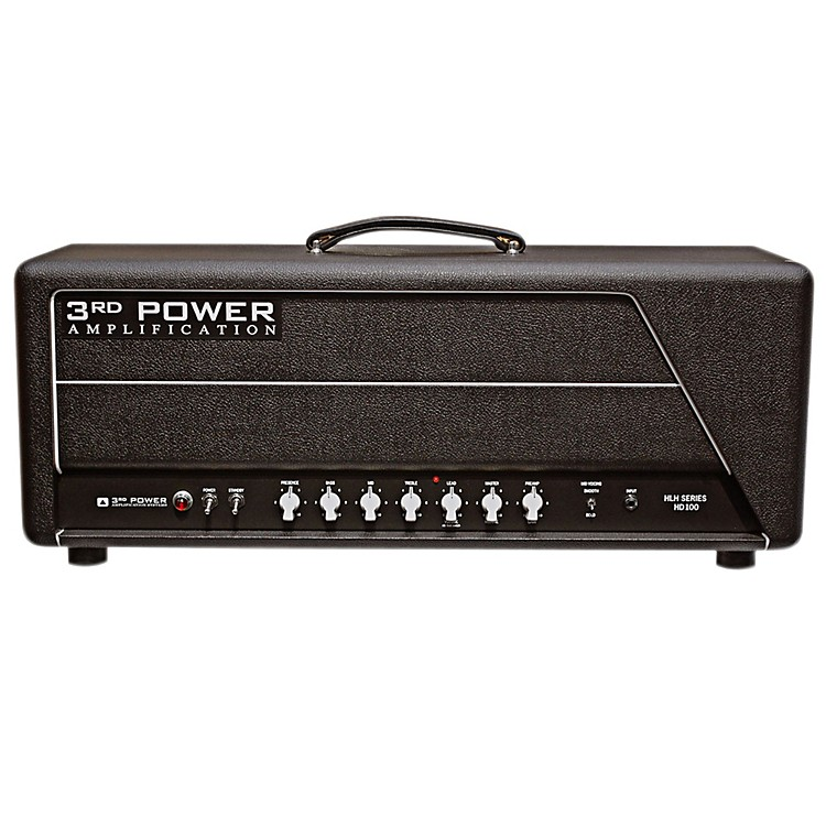 3rd Power Amps HLH Series HD100 Handwired 100W Tube Guitar Amp Head Black