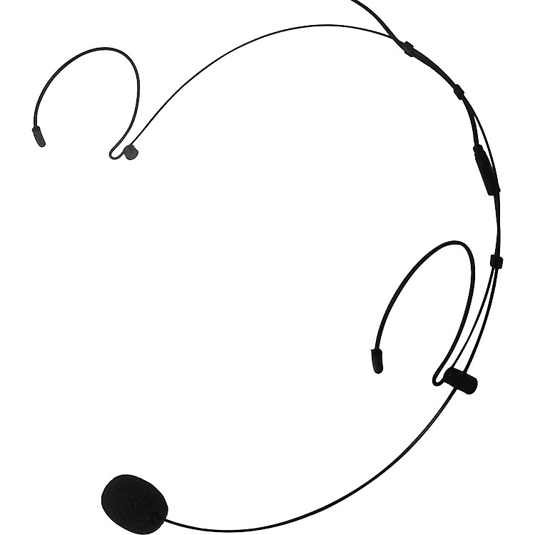 NadyHM-20U Headset MicrophoneBlack3.5 MM