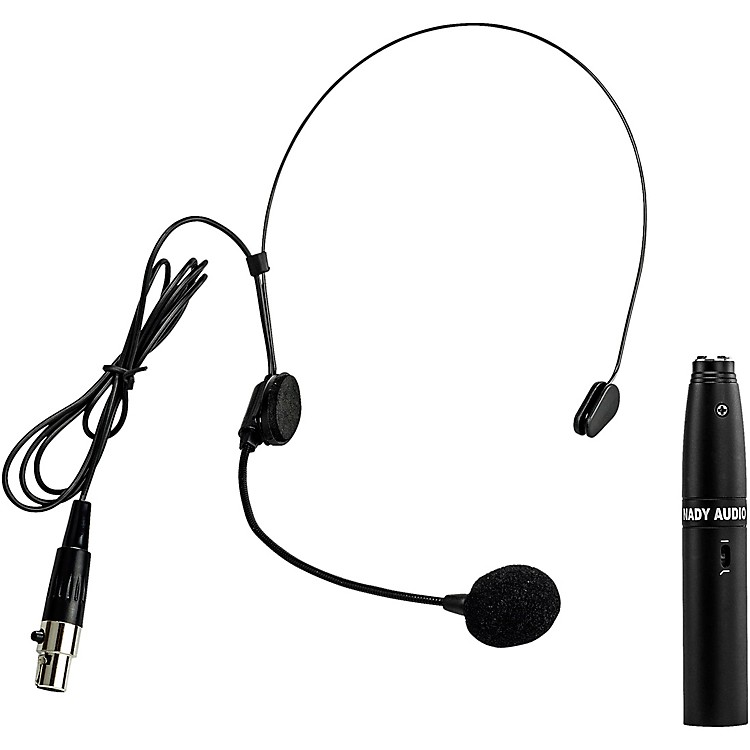 Nady HM-5U Headset Mic Black XLR Adapter