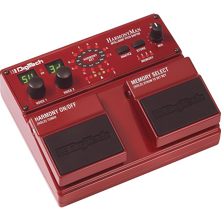DigiTechHM2 HarmonyMan Intelligent Pitch Shifter Guitar Effects Pedal