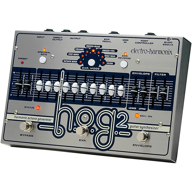 Electro-HarmonixHOG 2 Harmonic Octave Generator Guitar Effects Pedal