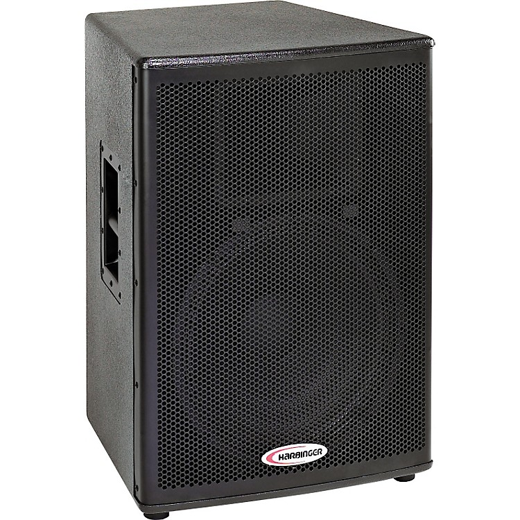 harbinger hp115 powered loudspeaker music123. Black Bedroom Furniture Sets. Home Design Ideas