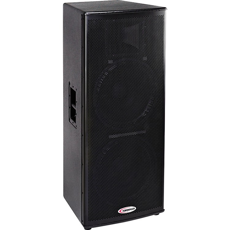 harbinger hp215 powered loudspeaker music123. Black Bedroom Furniture Sets. Home Design Ideas