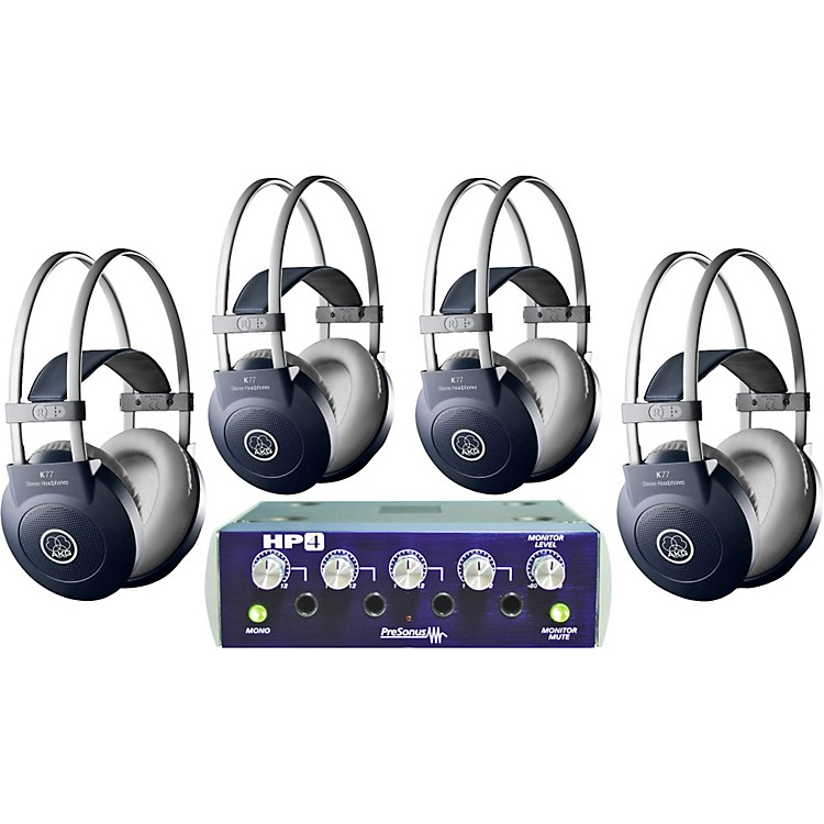 AKG HP4/K77 Headphone Four Pack