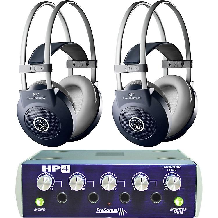 AKGHP4/K77 Headphone Two Pack