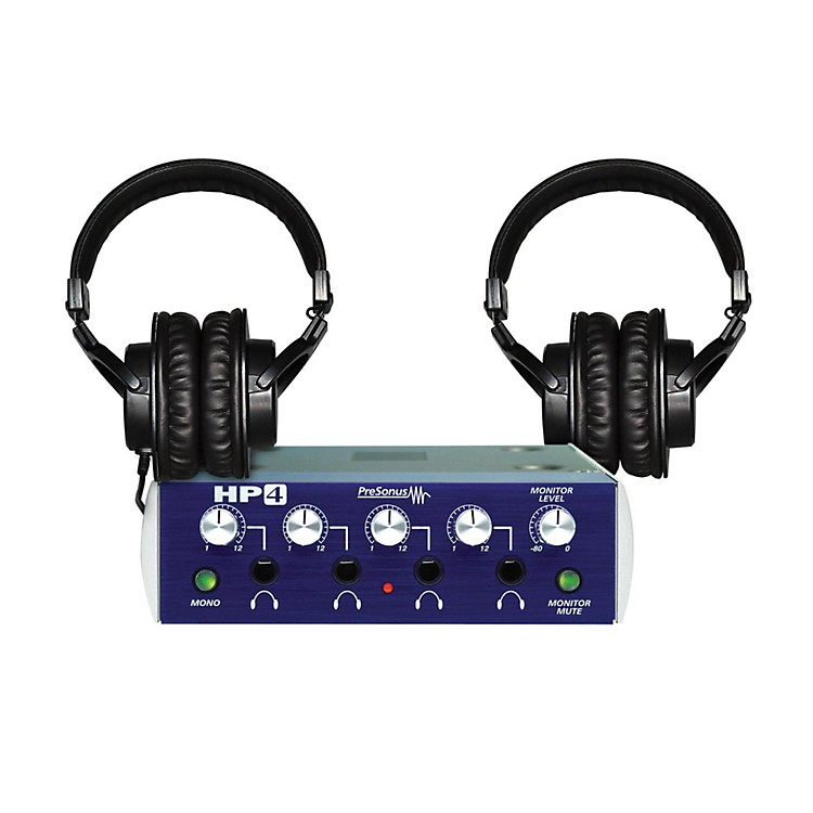 TASCAM HP4 TH-200X Headphone Package