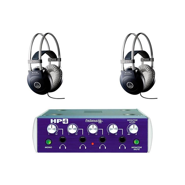 PreSonusHP4 and M80 MKII Headphone Package (2-pack)