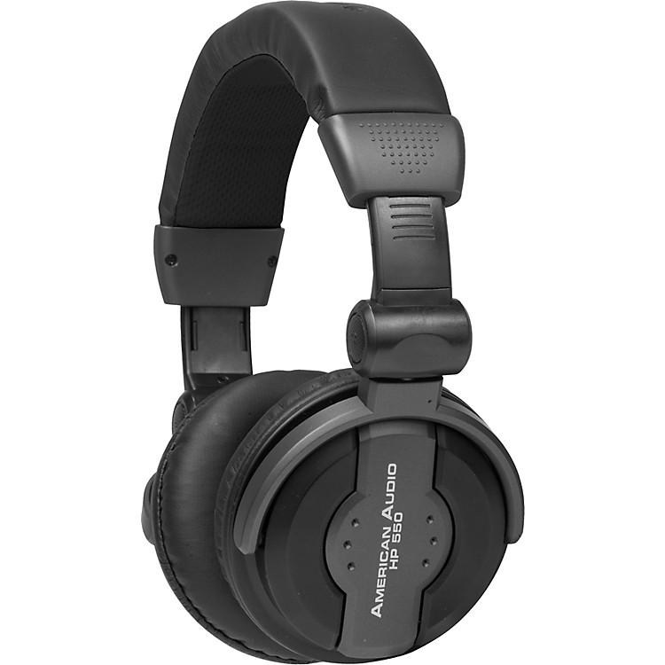 American AudioHP550 Professional Studio HeadphonesBlack