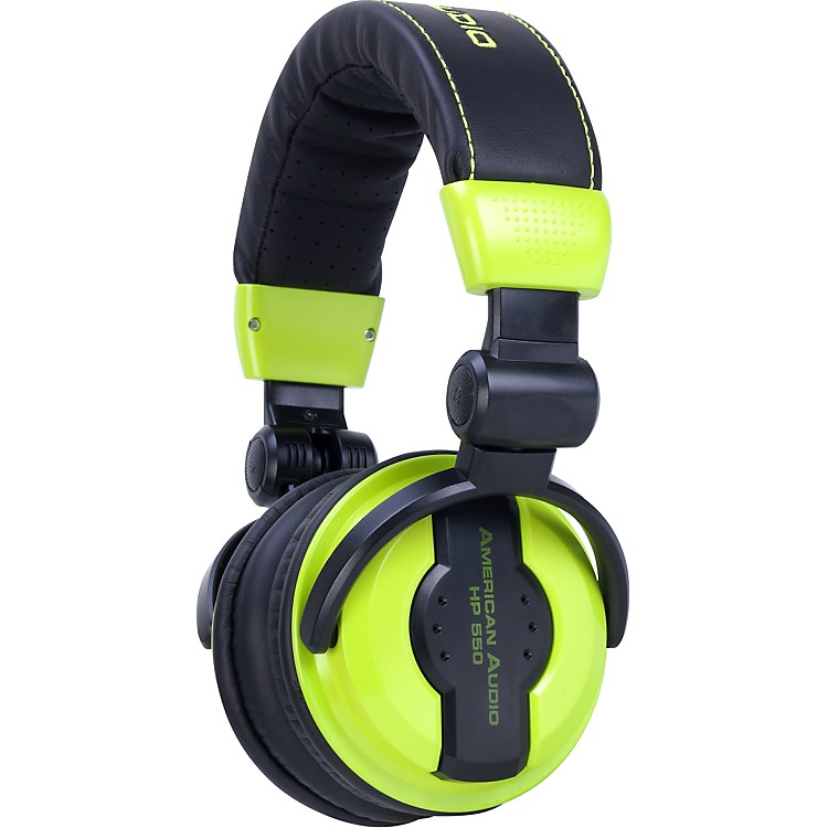 American AudioHP550 Professional Studio HeadphonesLime