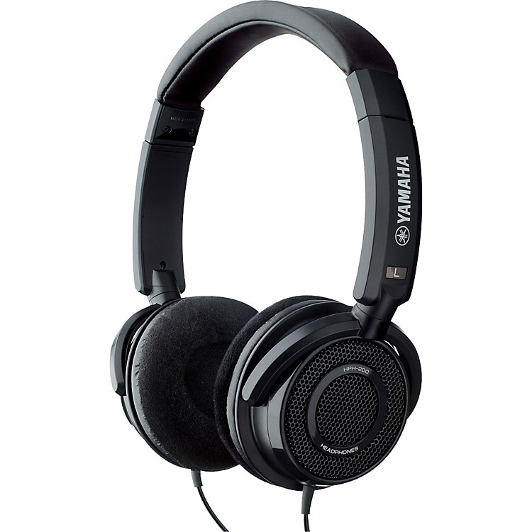 Yamaha HPH-200 Studio Headphones Black