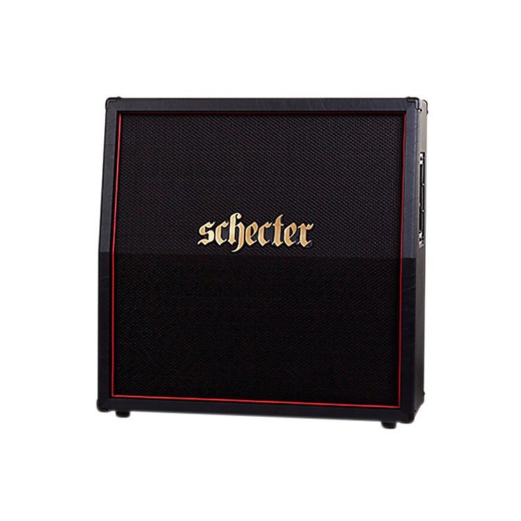Schecter Guitar Research HR412-SUBSLE D. Charge Sub 4x12 Slant Guitar Speaker Cabinet