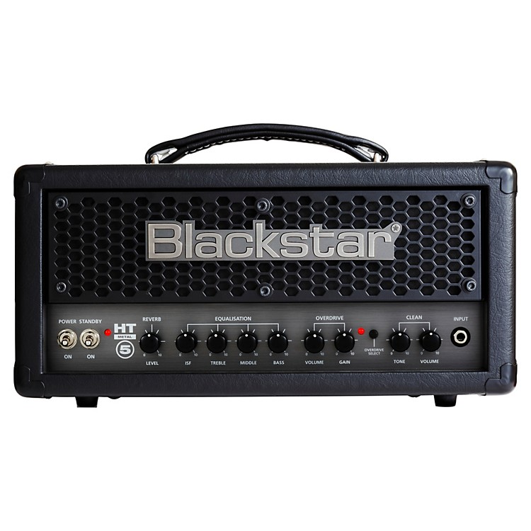 BlackstarHT METAL 5H 5 W Tube Guitar Head with ReverbBlack