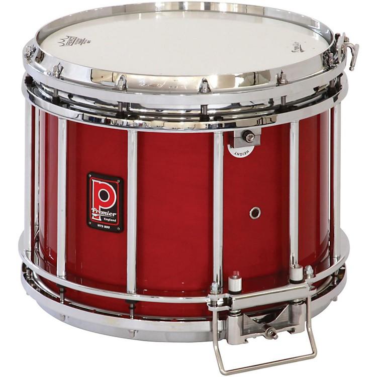 PremierHTS 800 Snare Drum w/ Diamond Chrome Hardware14x12 InchEbony Black Lacquer