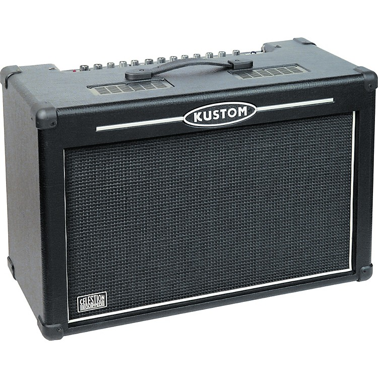 Kustom HV100 High Voltage Series Guitar Combo Amp Black