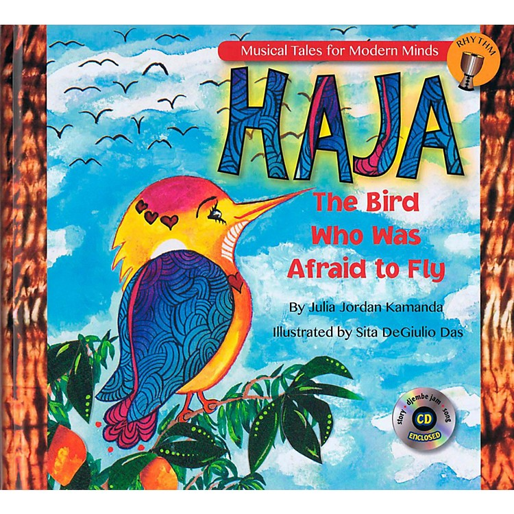 Hal LeonardHaja: The Bird Who Was Afraid to Fly - Storybook from Musical Tales for Modern Minds Book/CD