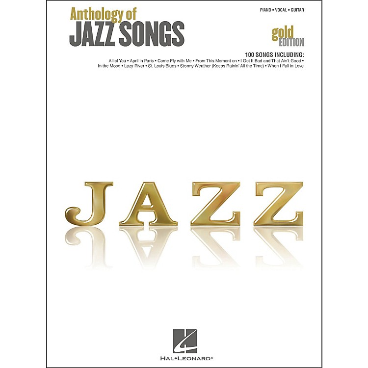 Hal LeonardHal Leonard Anthology Of Jazz Songs - Gold Edition arranged for piano, vocal, and guitar (P/V/G)