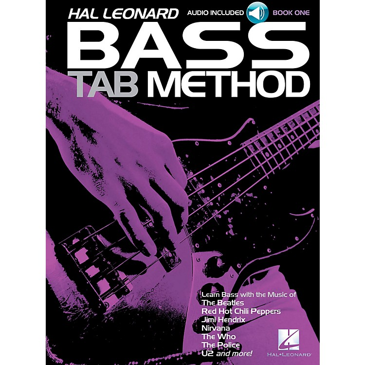 Hal Leonard Hal Leonard Bass Tab Method Book 1 Book/CD