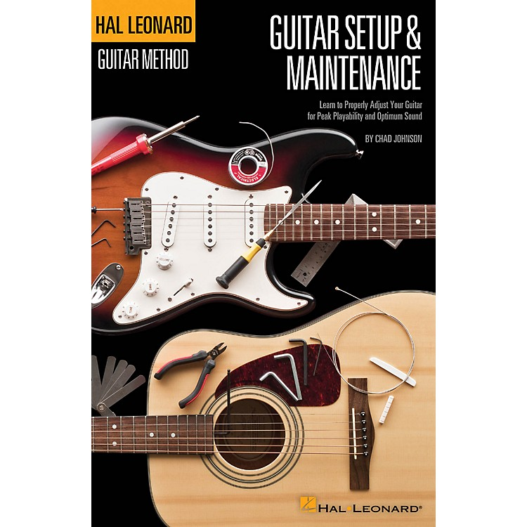 Hal Leonard Hal Leonard Guitar Method - Guitar Setup & Maintenance in Full Color