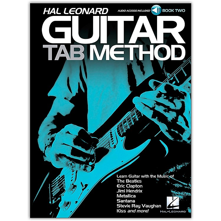 Hal Leonard Hal Leonard Guitar Tab Method - Book 2 Book/CD