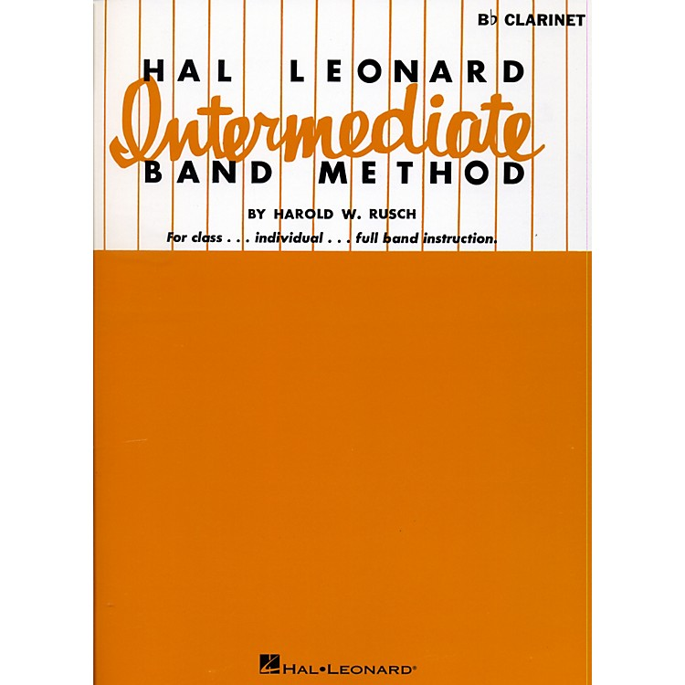Hal LeonardHal Leonard Intermediate Band Method B Flat Clarinet