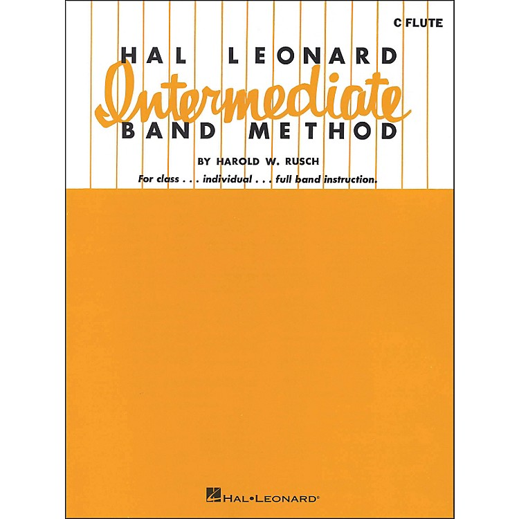 Hal Leonard Hal Leonard Intermediate Band Method for C Flute