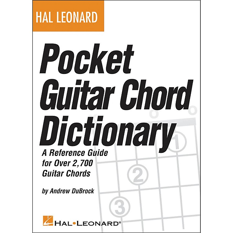 Hal Leonard Hal Leonard Pocket Guitar Chord Dictionary