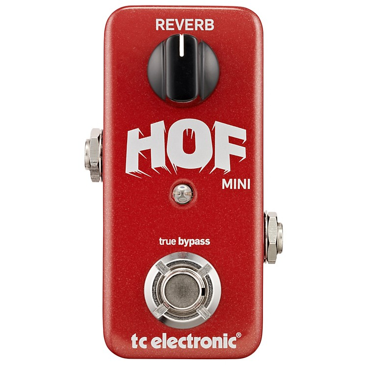 TC ElectronicHall Of Fame Mini Reverb Guitar Effects Pedal