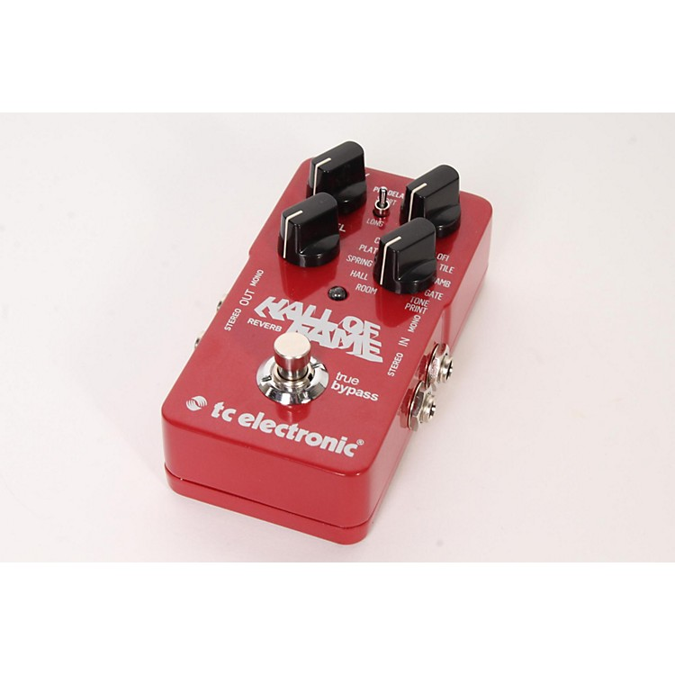 TC Electronic Hall Of Fame Reverb TonePrint Series Guitar Effects Pedal  888365901756
