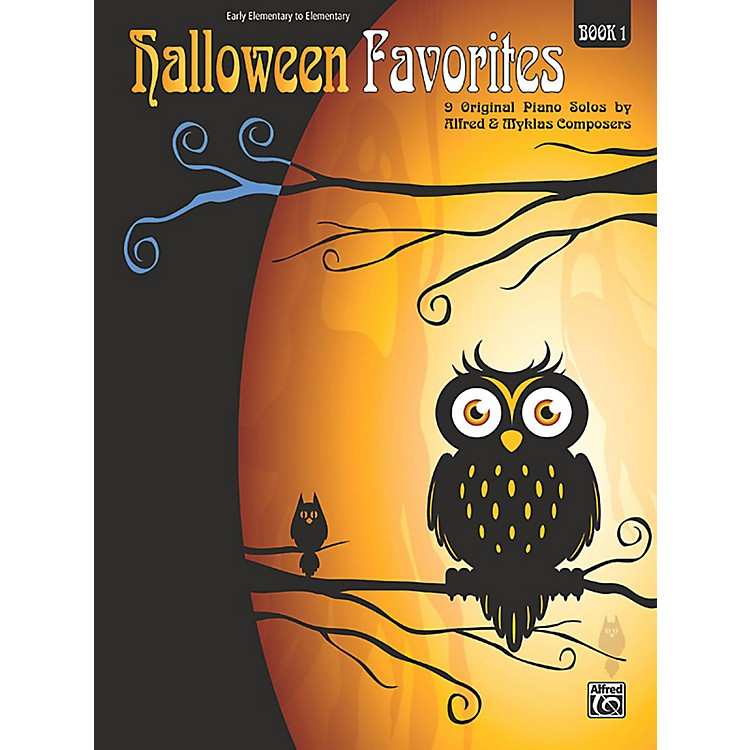 Alfred Halloween Favorites, Book 1 Early Elementary / Elementary