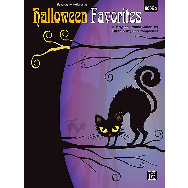 Alfred Halloween Favorites, Book 2 Elementary / Late Elementary