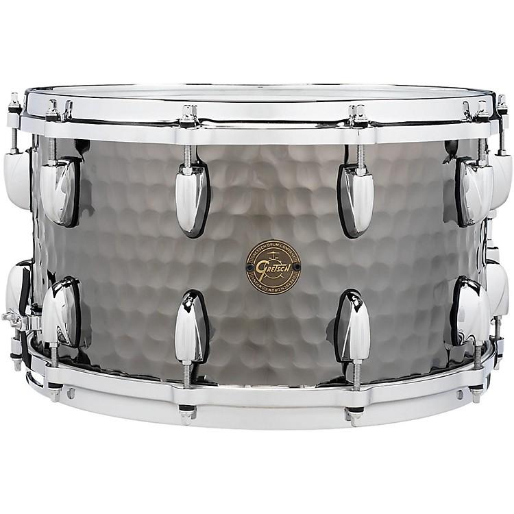 Gretsch DrumsHammered Black Steel Snare14 x 8 in.