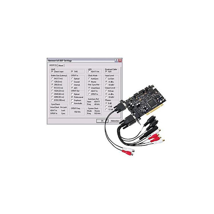 RMEHammerfall HDSP 9632 PCI Card