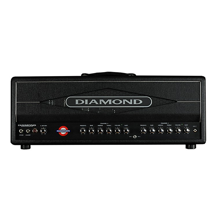 Diamond Amplification Hammersmith USA Custom Series 100W Vintage / Modern Tube Guitar Amp Head
